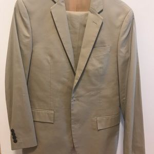 J Crew Thompson jacket and pants